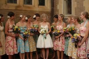 damas mariage floral bridesmaids dresses glitter inc glitter inc
