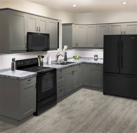 Kitchen Island Cabinets Menards by Stromma Gray By Klearvue Bathroom And Kitchen Remodel In