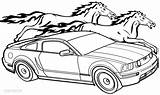 Coloring Pages Ford Bronco Mustang Getcolorings Printable Pag Getdrawings sketch template
