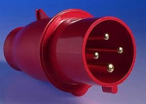 415v 32 Amp 4 Pin Plug