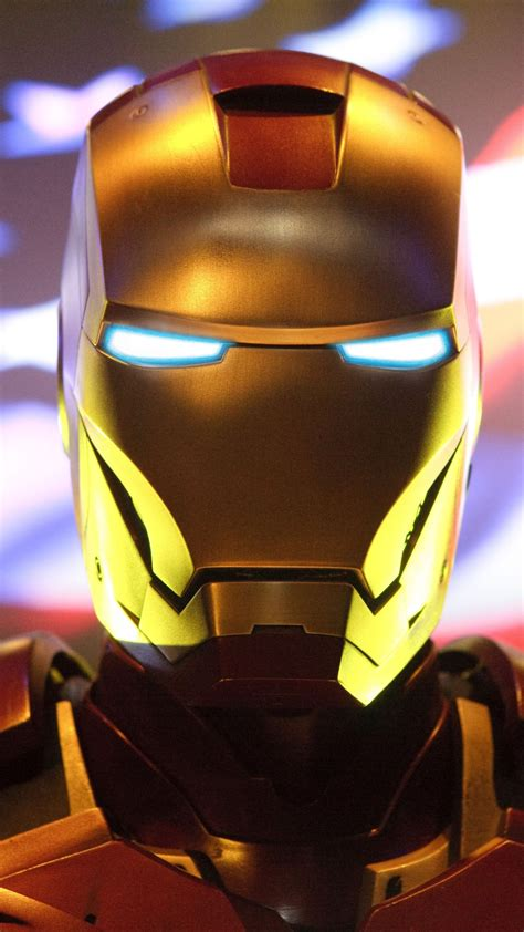 wallpaper iron man usa flag  movies