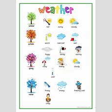 Weather  Picture Dictionary Worksheet  Free Esl Printable Worksheets Made By Teachers