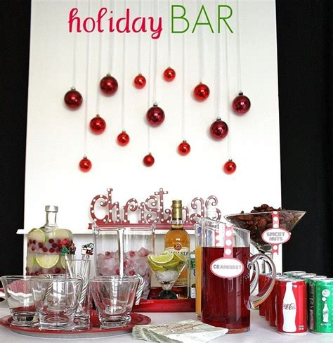 christmas cocktail party creating your holiday bar celebrations at home
