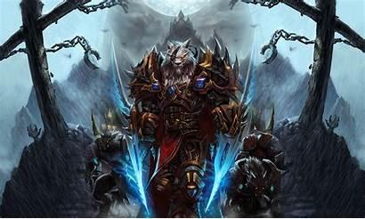 Wallpapers Cool Warcraft Desktop Entertainment Backgrounds Worgen