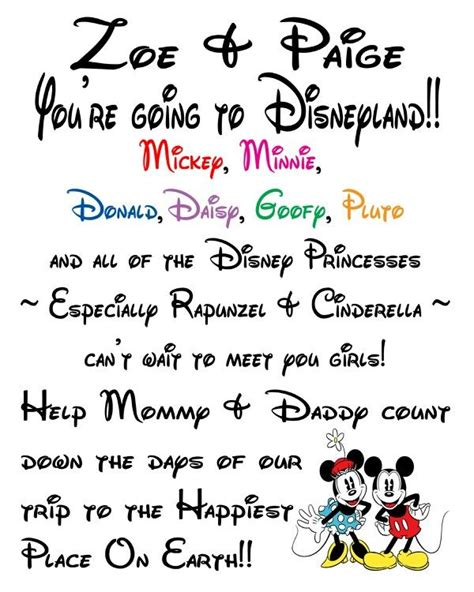 disney surprise letter 21 best ideas about walt disney world trip on