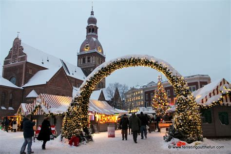 celebrating christmas  riga latvia ferreting   fun