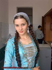 Girl from Chechnya wearing traditional costume | Russian ...