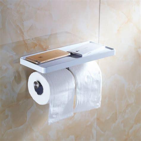 toilet paper holder shelf toilet paper holder wall mount with shelf stainless