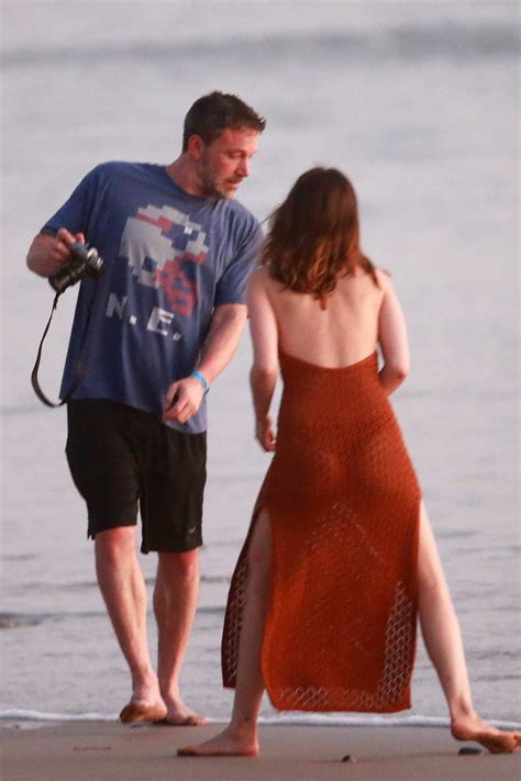 ana de armas and ben affleck pack on some pda during a ...