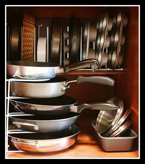 kitchen pan organizer 14 best images about diy pot rack on cupboards 2404