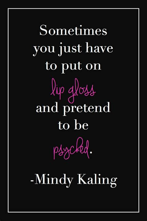 lip gloss quotes quotesgram