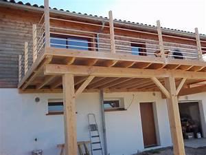 terrasse sur pilotis abribois31 constructions bois With comment faire une terrasse bois sur pilotis