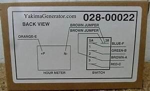 Onan Rv Generator Remote Start Panel With Digital Hour