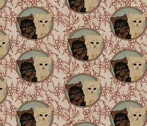 Vintage Cats fabric - bygarlands - Spoonflower