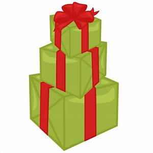Stacked Christmas Presents SVG cutting files for