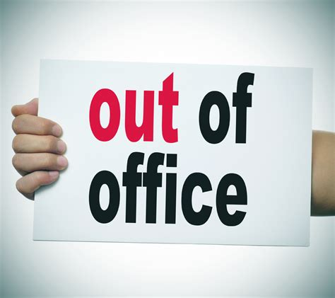 Before You Check Out, Check Your Outofoffice Message The