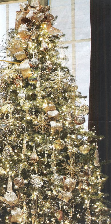 silver and gold tree 65 christmas tree colour combinations to drool over
