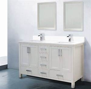 60 Inch Bathroom Vanity Double Sink Modern Fortmyerfire