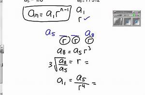 explicit formula geometric sequence - YouTube