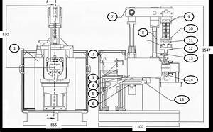 Diagram Of Journal Bearing Test Rig  1  Support Structure