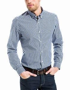 Chemise Homme A Carreau : chemise carreau vichy brice ~ Melissatoandfro.com Idées de Décoration