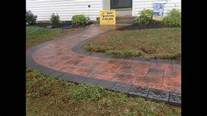 How, To, Install, A, 6x6, Border, Pavers, In, A, Walkway, Nicolock