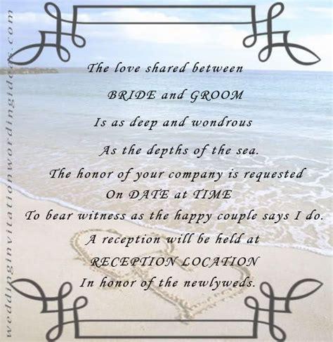 funny beach wedding invitations  examples  beach
