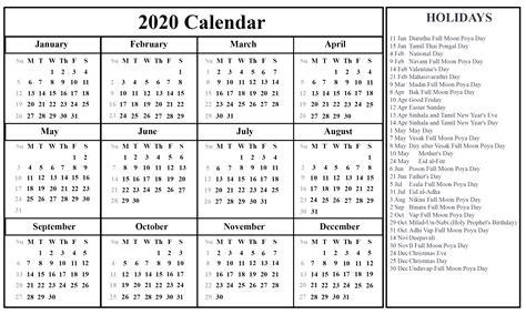 printable sri lanka calendar holidays printable