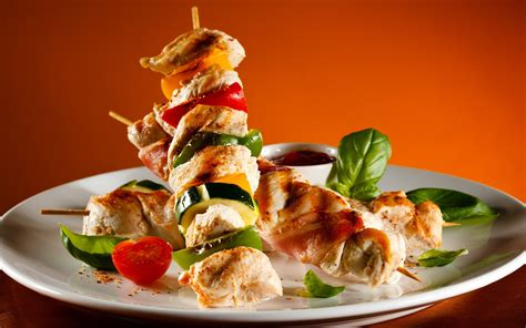 kebab cuisine chicken shish kebab desktop wallpapers 1600x1200