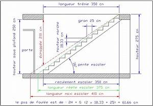 comment calculer un escalier With faire plan de maison 11 calculer un escalier droit