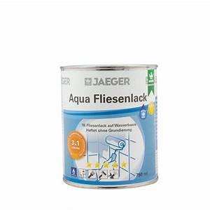 Jäger Aqua Fliesenlack : jaeger aqua fliesenlack 875 neve weiss 750ml 3 in 1 system ~ Watch28wear.com Haus und Dekorationen