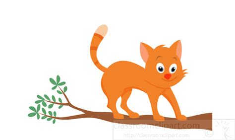 animals animated clipart cat cat  tree animation
