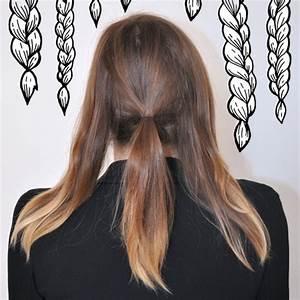 Coiffure Tresse Facile Cheveux Mi Long : coiffure simple et rapide pour cheveux mi long ~ Melissatoandfro.com Idées de Décoration