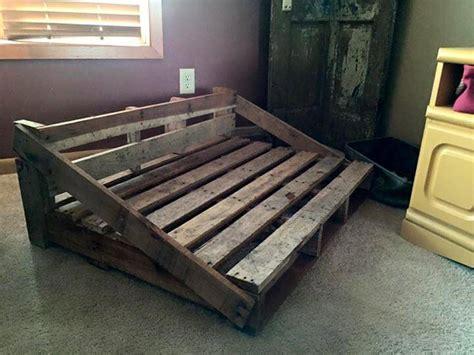 rustic dog bed   pallets  pallets