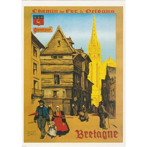 chemin馥 cuisine ancienne carte postale ancienne affiche publicitaire vintage rétro chemin de fer d 39 orléans quimper bretagne editions clouet