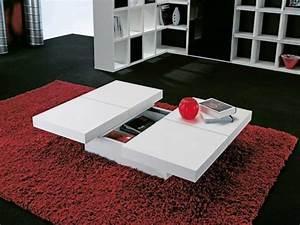Weißer Lack Für Möbel : weisser couchtisch funktional m bel f r wohnzimmertisch ~ Michelbontemps.com Haus und Dekorationen
