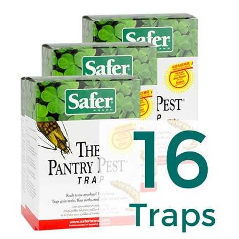 Safer The Pantry Pest Trap The Pantry Pest 174 Pantry Moth Trap 16 Traps Safer 174 Brand