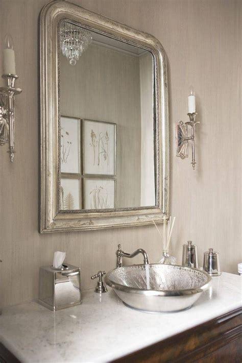 Silver Bathroom Mirror Rectangular by 20 Inspirations Of Silver Rectangular Bathroom Mirrors