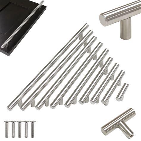 Stainless Steel Hollow T Bar Kitchen Cabinet Door Handles