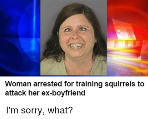 foto de Woman Arrested for Training Squirrels to Attack Her Ex