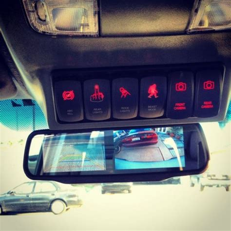 Overhead Console Custom Switch Panel Jeep