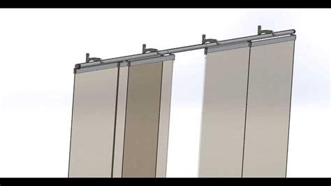 panneaux japonais 5 coulissants 2m80 secodir deco youtube