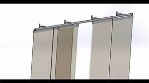Rideau Panneau Ikea : panneaux japonais 5 coulissants 2m80 secodir deco youtube ~ Teatrodelosmanantiales.com Idées de Décoration