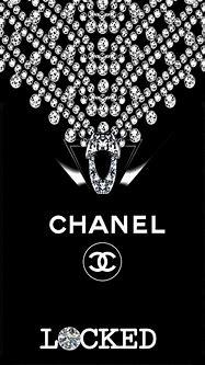 CHANEL & DIAMONDS 💖🖤   Chanel wallpapers, Coco chanel ...