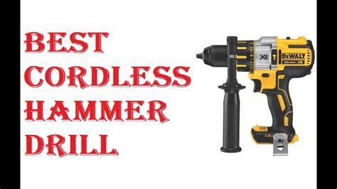 cordless hammer drill  cordless hammer drill
