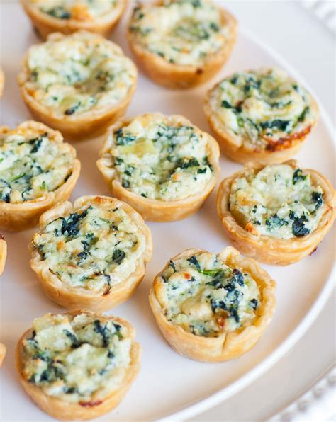 petite quiche  ricotta canapes tatyanas everyday food