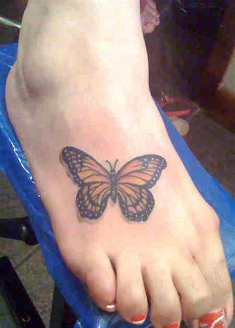 splendid foot butterfly tattoos  designs