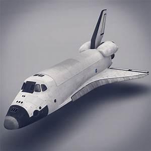 Space Shuttle 3D Model MAX OBJ FBX LWO LW LWS MA MB ...