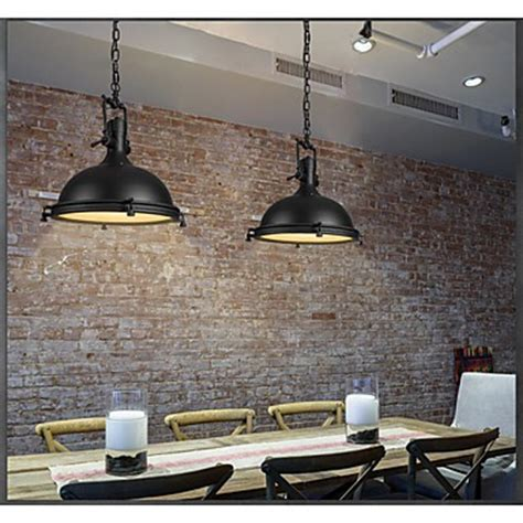 industrial single pendant l for bar coffee room