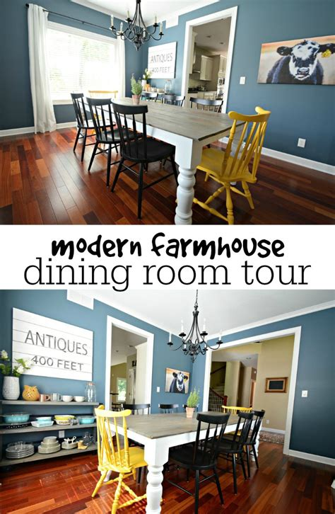 Then And Now  Dining Room — Decor And The Dog